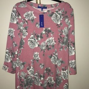 Women's floral dress size L